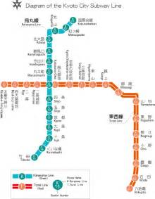 Kyoto Subway Map by Kyoto Subway Japanvisitor Japan Travel Guide