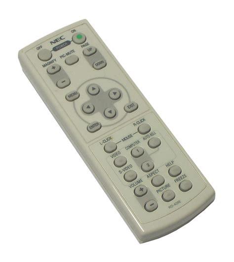 Remote Proyektor Nec Nec Rd 409e Projector Remote Ebay