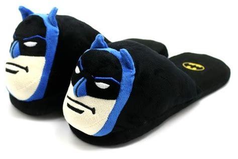 batman slippers batman plush slippers neatorama