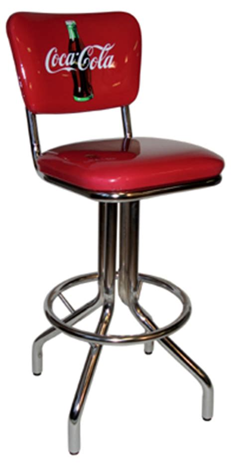 Coca Cola Stools by Coca Cola Chair Seatback Bar Stool
