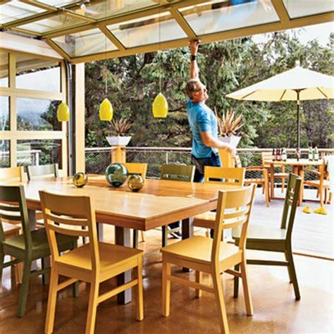 veranda qui s ouvre 55 id 233 es d une v 233 randa verri 232 re design et lumineuse