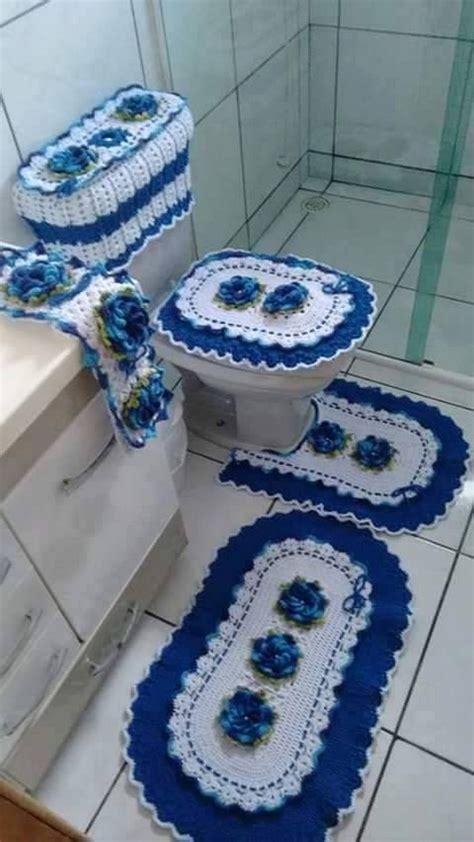 free crochet bathroom patterns 50 crochet bathroom set patterns 1001 crochet