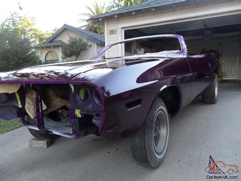 challenger project car for sale 1970 dodge challenger convertible project car