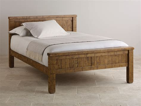 oak king size bed beds single double kingsize super kingsize wooden beds