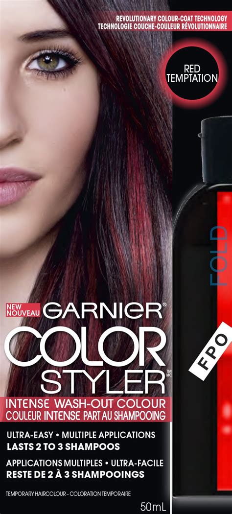 Garnier Wash Out Hair Color by Garnier Hair Color Color Styler Wash
