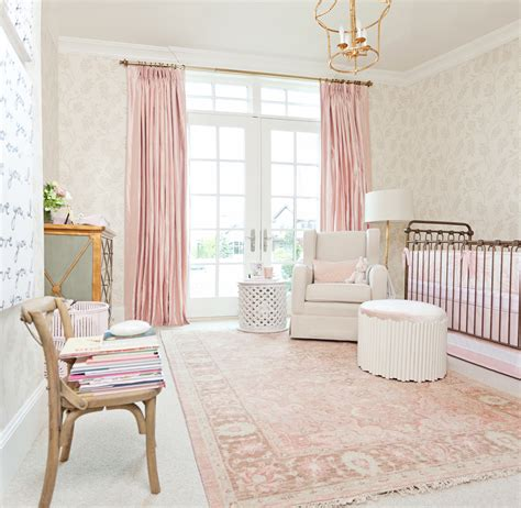 A Pink Nursery For Pink Peonies Project Nursery Pink Nursery Decor