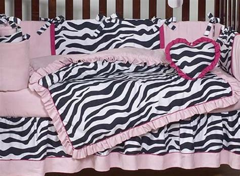 Zebra Print Baby Bedding Crib Sets by Pink And Zebra Print Crib Baby Bedding Set For Newborn