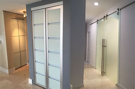 Sliding Closet Doors Miami Doors4u Interior Glass Doors In Miami