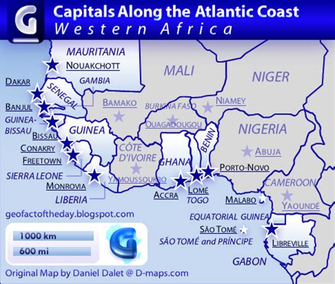 west africa map capitals geofact of the day september 2012