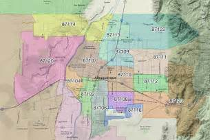 Abq Zip Code Map by Custom Mapping Service Information Maptechnica