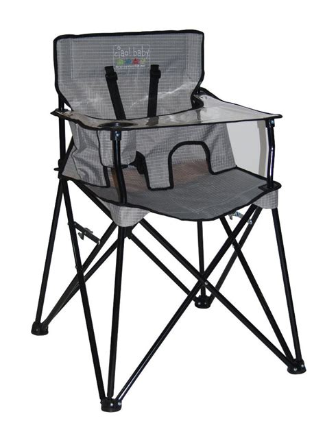 Baby Travel High Chair by New Ciao Portable Travel High Chair Foldable Baby Gear