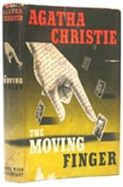 libro the moving finger miss abebooks the queen of crime writing agatha christie