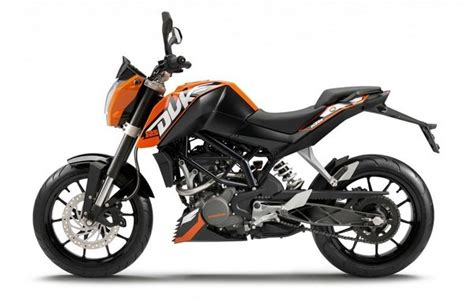 Top Speed Ktm Duke 125 2012 Ktm 125 Duke Motorcycle Review Top Speed