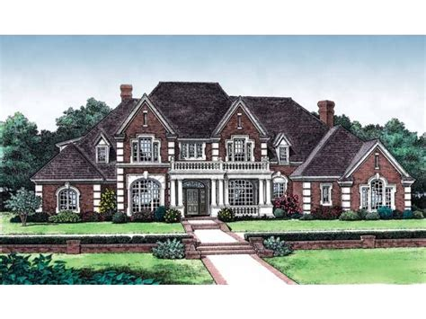 eplans new american house plan resplendent rear view