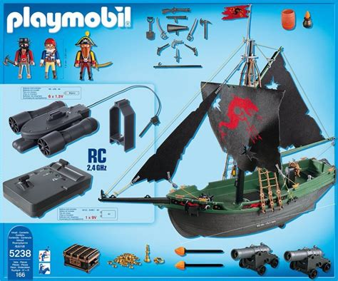 Bathtub Components 5238 Pirates Ship With Rc Underwater Motor The