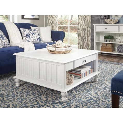 white cottage coffee table international concepts hton unfinished coffee table ot