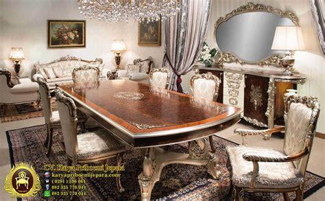 Meja Makan Klasik set meja makan davinci klasik