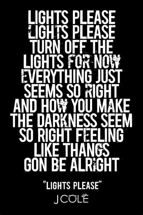 Lights J Cole Lyrics by J Cole Lights Quotes