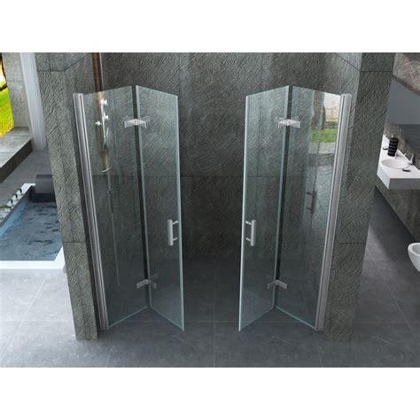box doccia apertura a libro doppia porta per doccia a nicchia quot venezia quot apertura a libro