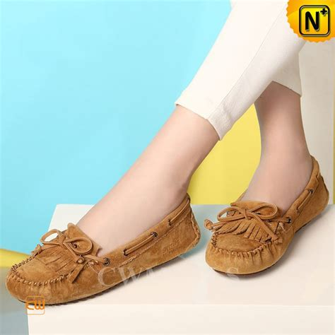 comfortable moccasins womens leather driving moccasins cw306025