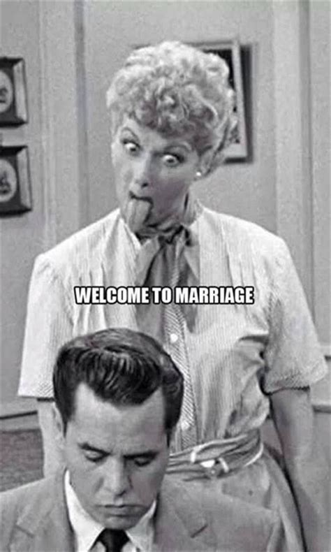 how to find happiness in a marriage welcome to ahanow welcome to marriage i love lucy sticks her tongue at ricky