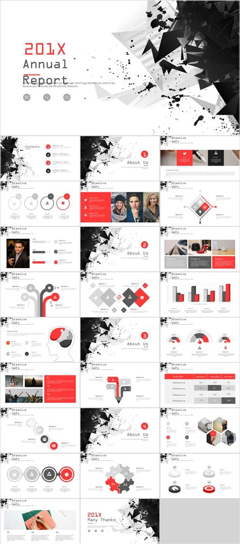 creative the highest quality powerpoint templates and 27 best creative annual charts powerpoint template the