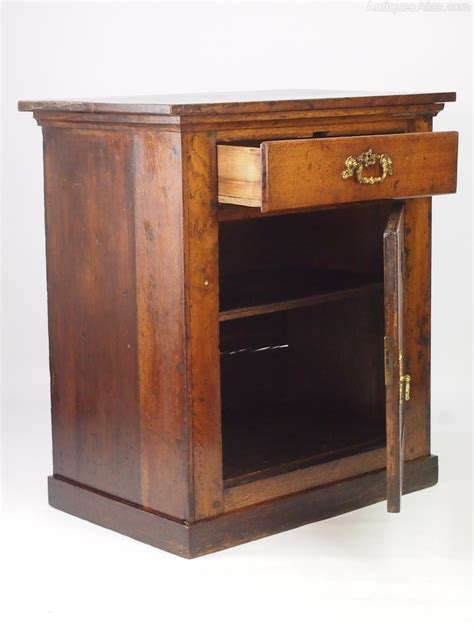 side cabinet oak side cabinet with drawer or hall cupboard antiques atlas