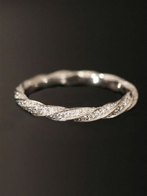 wedding bands for twisted engagement rings discover and save creative ideas