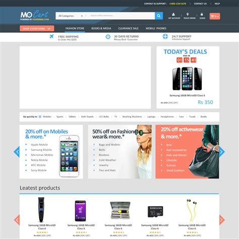 12 Free E Commerce Psd Templates Colorlib Store Web Template