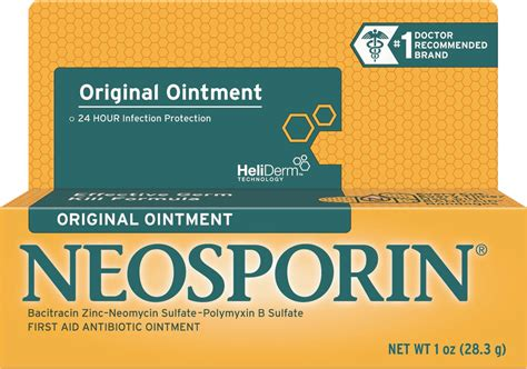 wound care neosporin antibiotic ointment neosporin 174 original