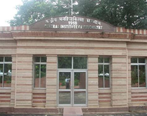 central institute  psychiatry cip ranchi admissions contact website facilities