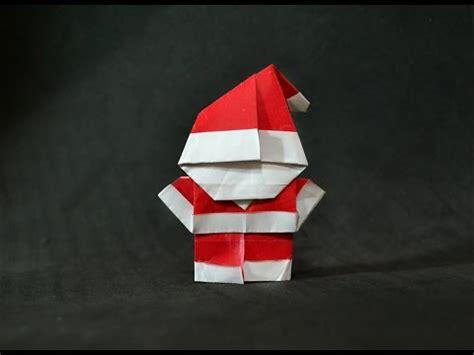 origami mini santa origami mini santa claus
