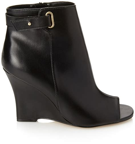 forever 21 peep toe wedge booties where to buy how to wear