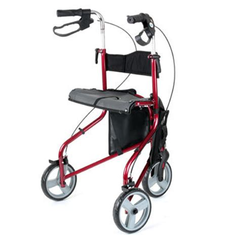 walkers with a seat liteway tri walker with seat careco liteway tri walker