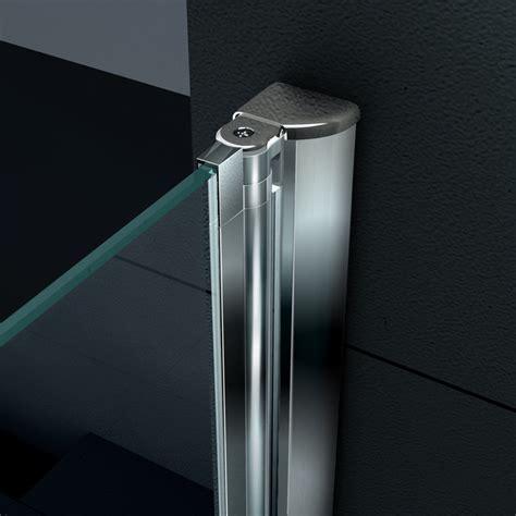 profili alluminio per box doccia porta battente per nicchia spessore vetro 6 mm