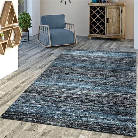 teppich blau designer teppich blau modern kurzflor mulitcolour moderne