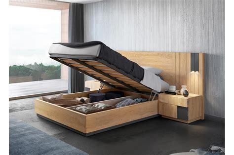 lit adulte avec rangements lit adulte avec rangement 160x200 bois teck novomeuble