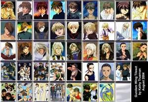 This Characters - gundam wing images gundam wing characters hd wallpaper and