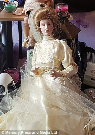 haunted doll haunted doll flogged on ebay has attacked new owner