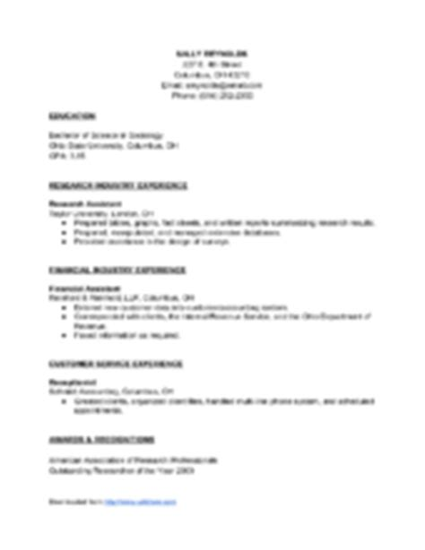how to write a resume after 28 images sle letter to