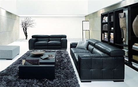 Black Sofa In Living Room How To Decorate Your Living Room Using Black And White
