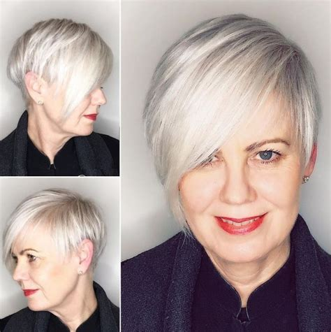 fix for thinning bangs in women 90 classy and simple short hairstyles for women over 50