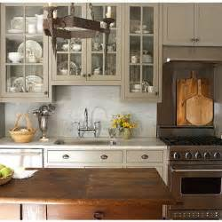 Taupe Painted Cabinets Kitchen Taupe Cabinets Marble Home Sweet Home