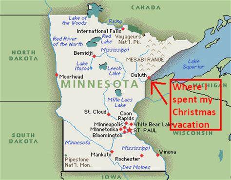 Christmas in Minnesota Grandma's Marathon Course Map