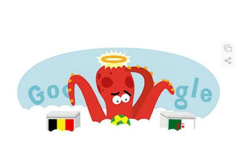 doodle for india 2014 results doodle for belgium vs algeria paul the octopus