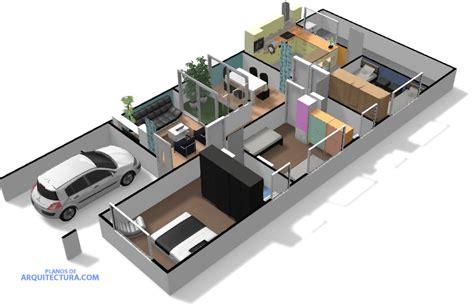 casas en 3d idea de plano de casa de un piso planos de arquitectura