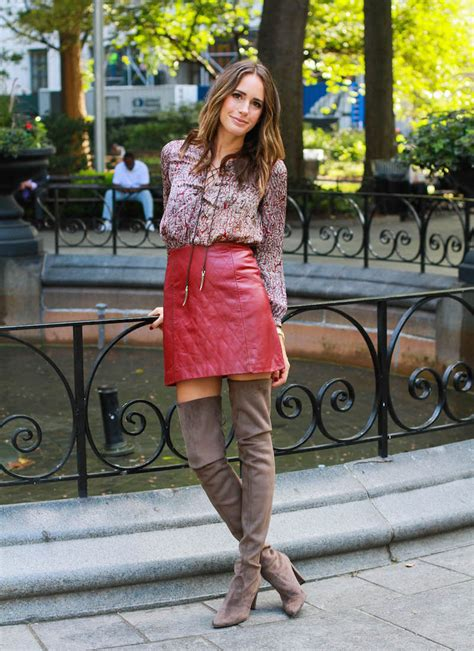 fall trend thigh high boots front roe by louise roe