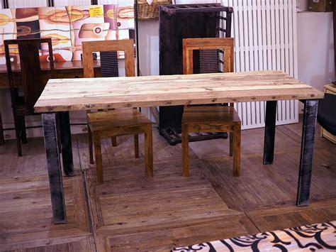 tavolo cucina legno grezzo tavolo industrial in offerta legno grezzo di noce india