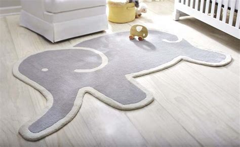 Pottery Barn Kids Elephant Rug Roselawnlutheran Rugs For Nursery