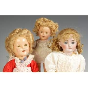bisque shirley temple doll shirley temple dolls kestner doll cottone auctions
